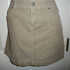 ROUTE 66 CORDUROY Mini Straight Skirt Size 6
